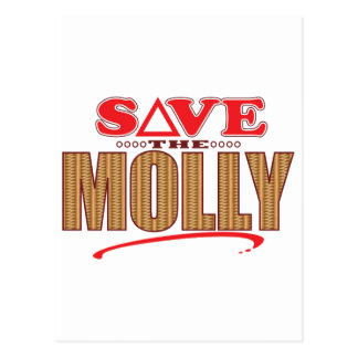 Molly Save Postcard
