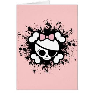 Molly Splat Greeting Card