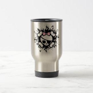 Molly Splat Stainless Steel Travel Mug