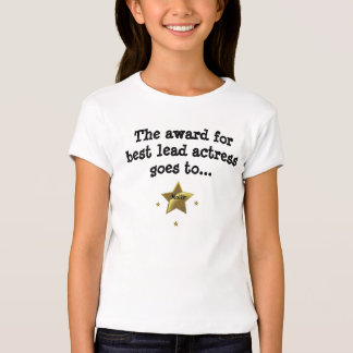 MOLLY: The Award For Best Lead Actress T Shirt