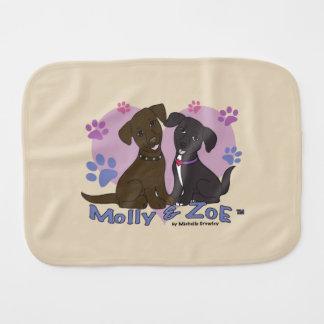 Molly & Zoe Baby Burp Cloth
