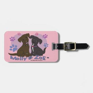Molly & Zoe Luggage Tag