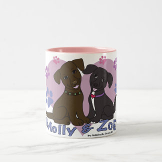 Molly & Zoe Two-Tone Coffee Mug