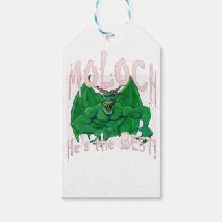 Moloch:  He's the BEST! Gift Tags