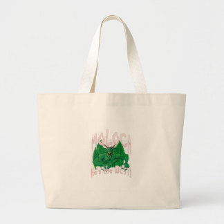 Moloch:  He's the BEST! Large Tote Bag
