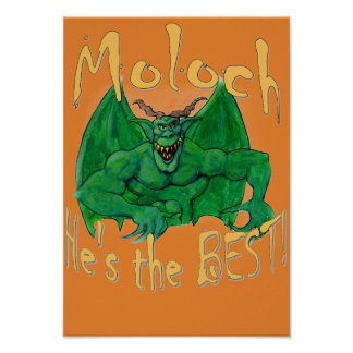Moloch:  He's the Best! Poster