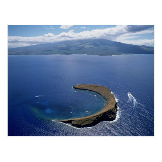 Molokini Island, Maui, Hawaii, USA Postcard