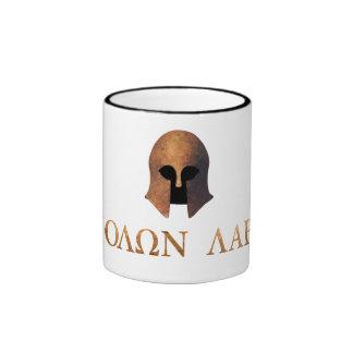 Molon Labe (Come and Get It) Ringer Mug