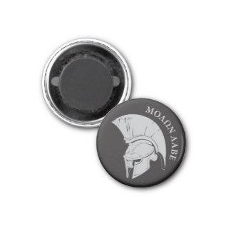 Molon Labe, come and take them! 3 Cm Round Magnet