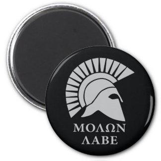 Molon Labe, come and take them! 6 Cm Round Magnet