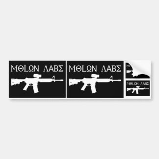 Molon Labe - Come and Take Them Bumper Sticker
