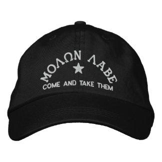 Molon Labe - Come and Take Them Embroidered Hat