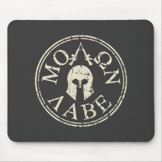 Molon Labe, Come and Take Them Mouse Pad