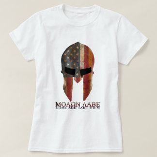 Molon Labe - Come and Take Them USA Spartan T-Shirt
