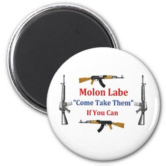 Molon Labe Come Take Them If You Can Fridge Magnets