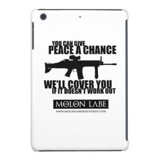 Molon Labe Give Peace A Chance iPad Cover