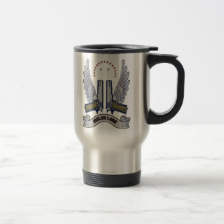 Molon Labe Gun Mug