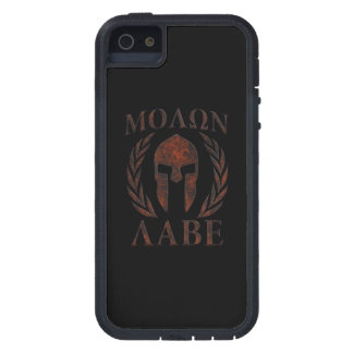 Molon Labe Iron Warrior Laurels Cover For iPhone 5