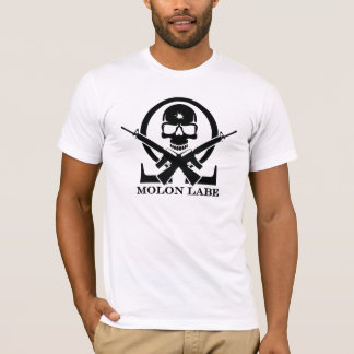 Molon Labe Skull T-Shirt