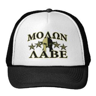 Molon Labe Spartan Helmet 5 stars Cap