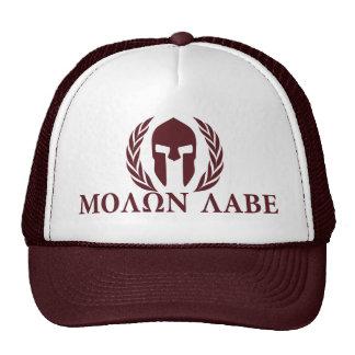 Molon Labe Spartan Helmet Cap