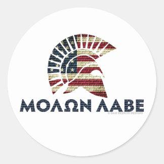 Molon Labe Stickers