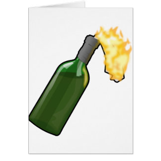 Molotov Cocktail Card