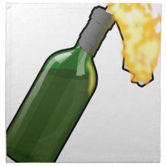 Molotov Cocktail Napkin