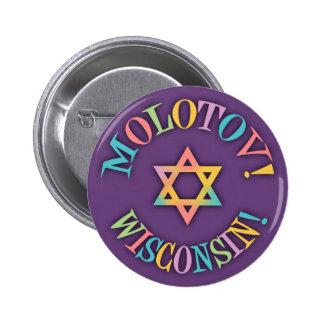 Molotov, Wisconsin! 6 Cm Round Badge