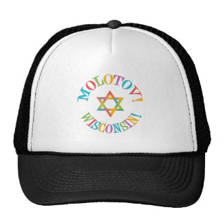 Molotov, Wisconsin! Trucker Hats