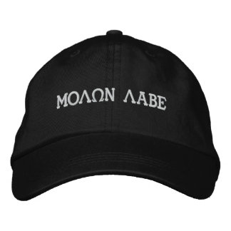 MOLQN LABE EMBROIDERED HAT