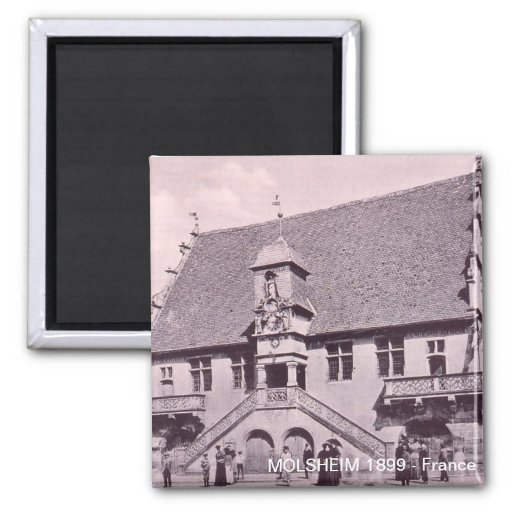 MOLSHEIM, Law courts, Frontage, (1899) Refrigerator Magnets