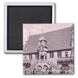 MOLSHEIM Palais de Justice Facade 1899 Magnets Pour Réfrigérateur