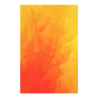 Molten Flames Full Color Design Stationery