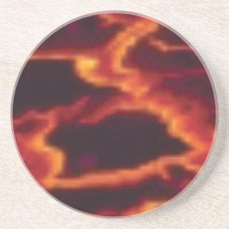 molten lava flow coaster