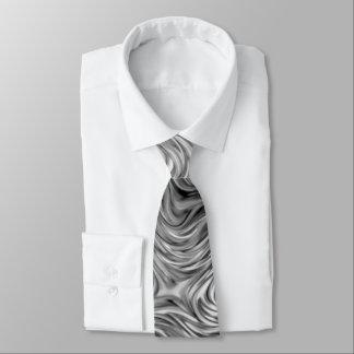 Molten print tie