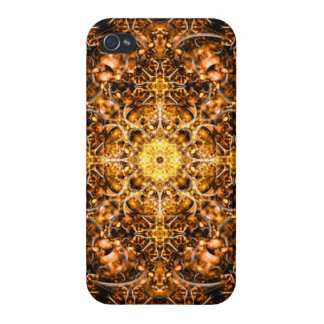 Molten Prism Mandala iPhone 4/4S Covers
