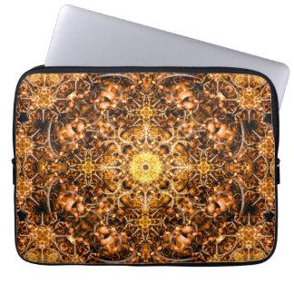 Molten Prism Mandala Laptop Computer Sleeve