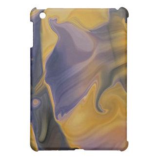 Molten Purple Abstract iPad Case