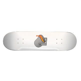 Molten Steel Skateboard Deck