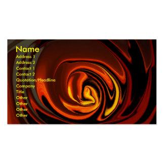 Molten Sunset business card
