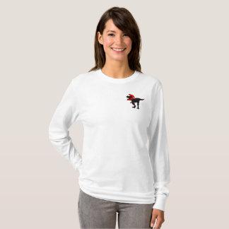 Molten Tyrannosaurus Rex HEROIC Womens Long Sleeve T-Shirt