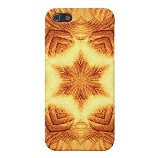 Molten Vortex Mandala iPhone 5/5S Covers