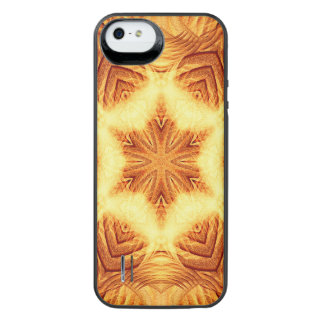 Molten Vortex Mandala iPhone SE/5/5s Battery Case