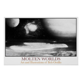 Molten Worlds Poster