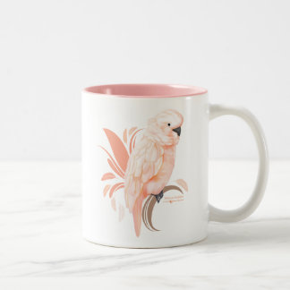 Moluccan Cockatoo Two-Tone Coffee Mug