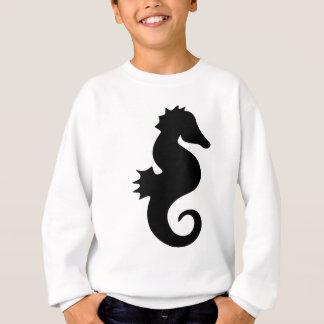 molumen_seahorse_silhouette sweatshirt