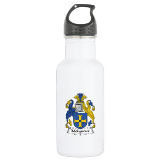 Molyneux Family Crest 532 Ml Water Bottle