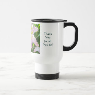 Mom Always There Thank You! Lilies Coffee Mugs
