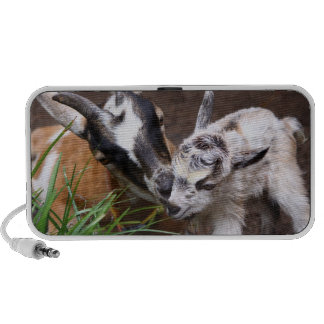 Mom and Baby Goat Portable Speakers